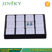 Wholesale Luxury Customized Display Trays for Ring Necklace Earrings Holder Organizer Plastic Stackable Jewelry Tray