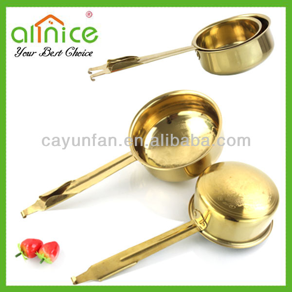 gold-coating water ladle/scoop/bailer