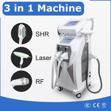 Innovation laser hair and laser tattoo removal machine e light ipl rf nd yag laser 4 in 1