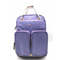 Wholesale fashion travel canvas nappy bag women handbags backpack waterproof adult baby diaper bag for mom and dad