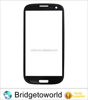 Various LCD parts replacement touch screen front outer glass lens for samsung galaxy s3 i9300