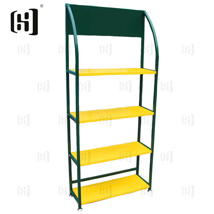 High quality metal car battery rack shelf