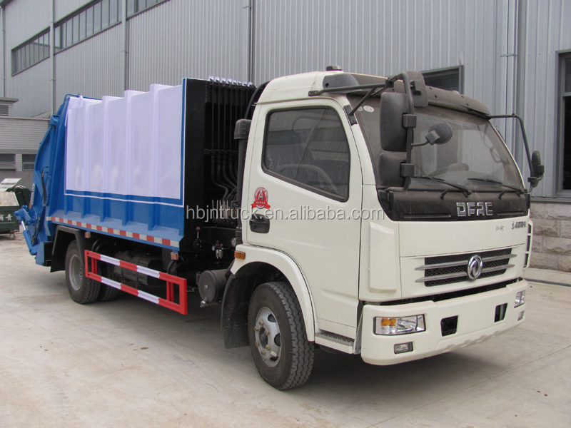 Rubbish compactor truck for sale