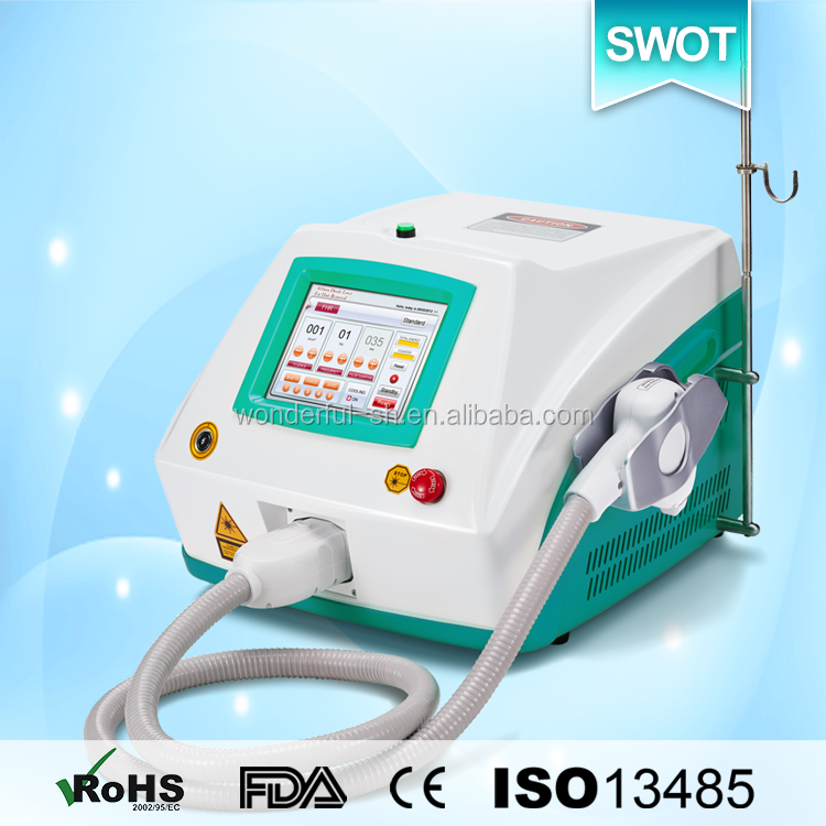 mini 808nm painless diode laser hair removal disc