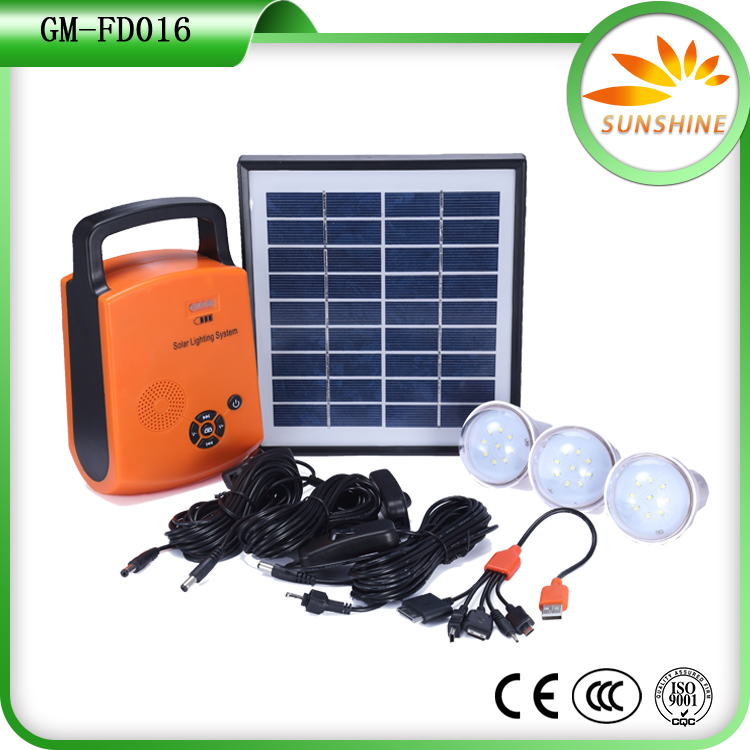 Cheap solar energy system equipment products 18v 20w solar panel home lighting power system