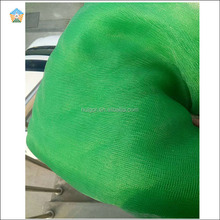 Good ventilation lightweight reusable recycled pe mesh produce bag for vegetable and fruit