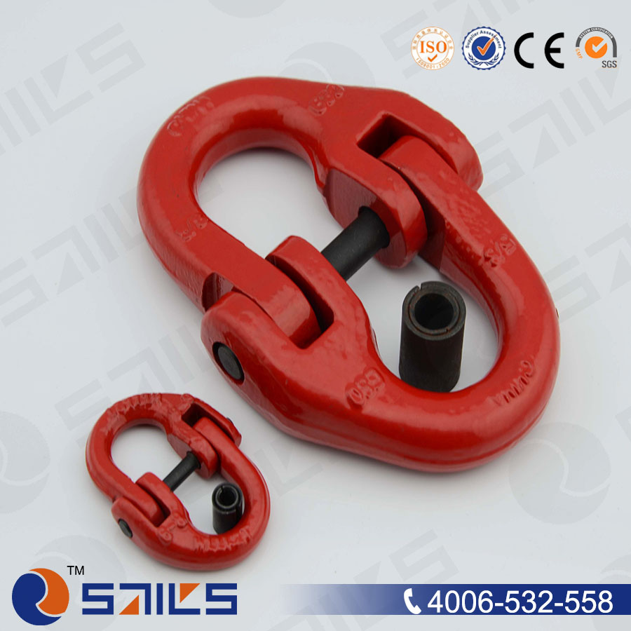 5/8'' forged alloy steel U.S. type chain g80 connecting link,and connecting link chain
