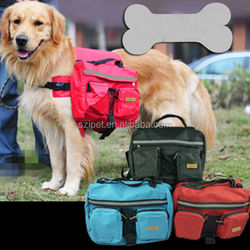 Pet bed Pet dog bag Medium and large Big dogs outdoor backpack Saddle Bags for Hiking PB08