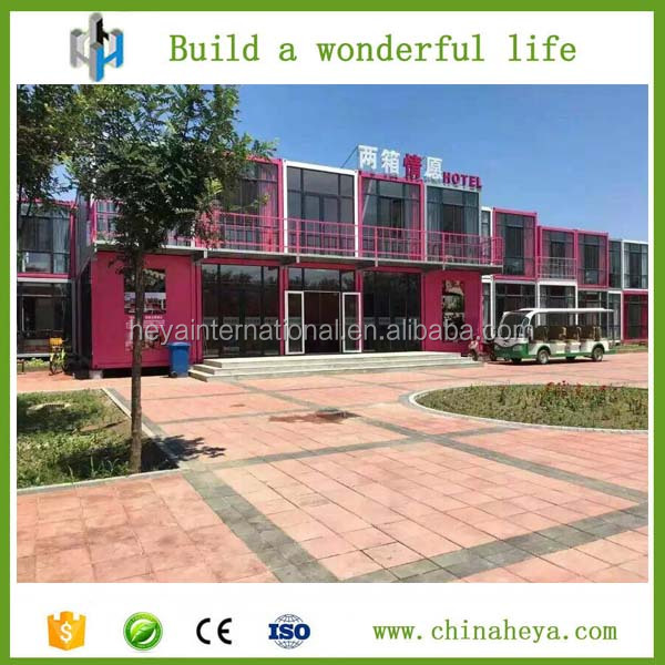 Modern modified living container house hotel apartment for sale