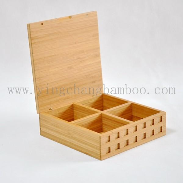 bambus tee aufbewahrungsbox teebeutel serving box speicherkasten und beh lter produkt id. Black Bedroom Furniture Sets. Home Design Ideas