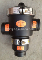 "Low cost DN125 5"" one inlet two outlet valve for 2 way or 3 way with Best Service"