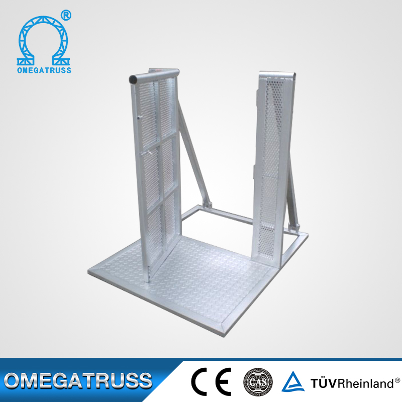 Outdoor activities gate barrier crash barrier