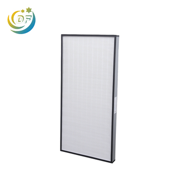 Factory supply portable room clean hepa type air filter
