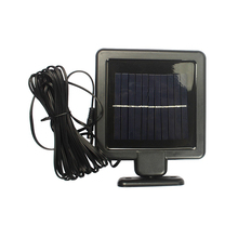 High quality wall solar motion sensor security light with two spotlight