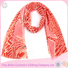 Custom design 100% wool digital print scarf,wholesale women soft cashmere wool wraps knit shawls scarf