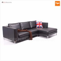 italy modern leather L shape sofa