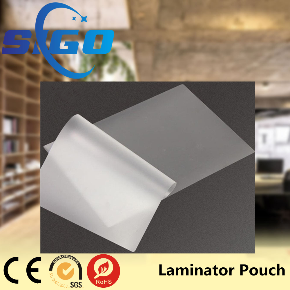 SIGO 125mic A4 Lamination Film Pouches, High Glossy Photo Hot Laminating Pouch