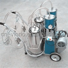 Milking Machine (Single Cow Milking Machine) - Stainless Steel Bucket / Silicon Liners / 240cc Milk Claw