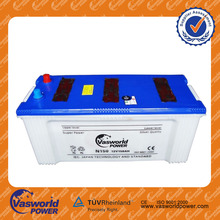 N150 12v 150ah Dry Charged Auto Car Battery
