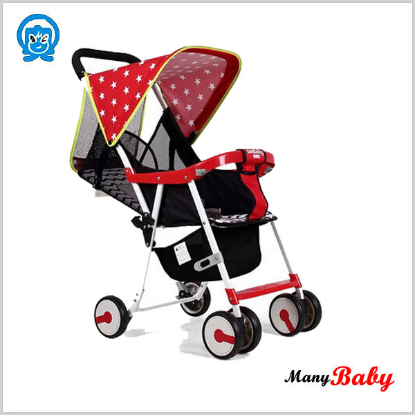 Light weight pocket baby stroller, baby push car stroller, baby buggy for 0-36months
