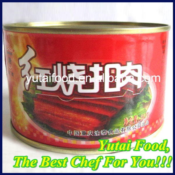 Canned Food Canned Meat Canned Pork Best Quality Canned Food Stewed Pork Sliced