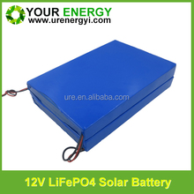 lithium ion 12v 40ah battery with lifepo4 cell ultra thin 12v battery for solar street light