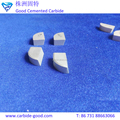 Yg6 Carbide Tips Tungsten Carbide Brazed Tips For Cutting Tool