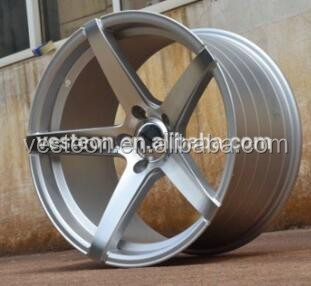 Silver Finishing 6,5,4 Hole car Aluminium alloy wheel