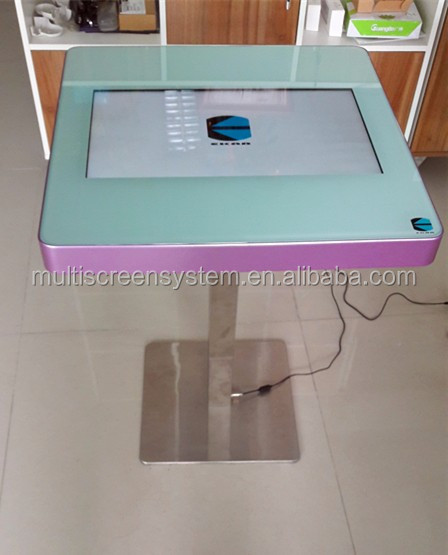 EKAA <strong>Fashion</strong> waterproof digital interactive touch screen office table
