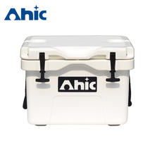 Saddle box motorcycle, baseball equipment, plastic cooler liner AHIC25L ice chest