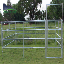 china top ten products hot dipped galvanized tube portable horse stall