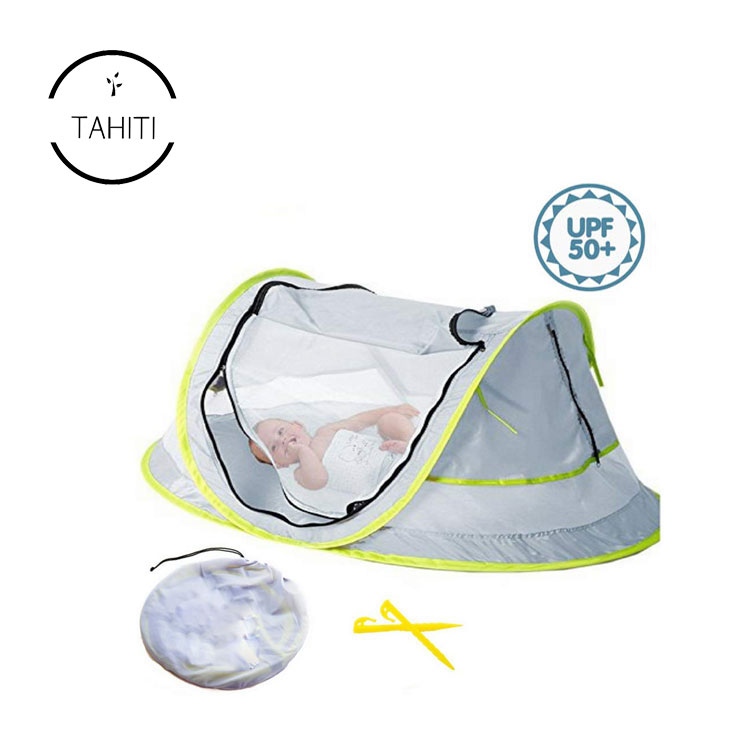 Instant Pop Up Portable Travel Bed With Mosquito Net Baby Crib baby beach <strong>Tent</strong>