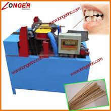 Bamboo toothpick shapering and forming machine