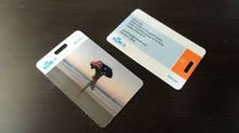 new fashion printing photo luggage tag (M-PT216)