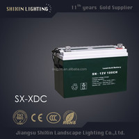 street light, garden lamp use solar battery charger 12v 48v