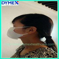 Anti virus MERS Personal equipment CE ISO medical pink surgical face mask