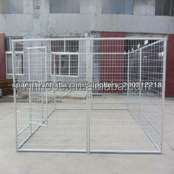 4m*4m*1.8m Large Galvanized Wire Mesh Dog Kennel/Dog Run/Dog Cage