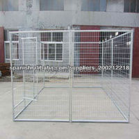 4m*4m*1.8m Large Galvanized Wleded Wire Mesh Filled Welded Dog Kennel/Dog Run/Dog Cage
