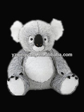 New arrival cute and lovely stuffed soft plush koala bear toy for children