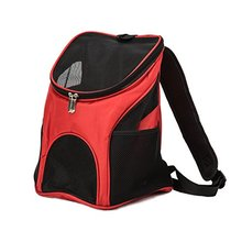 2018 Premium Casual Red 600D Pet Carrier Backpack Space Capsule Dog Cat Small Animals Travel Bag