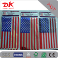 Custom Garden yard decoration Patriotic mini flag banners with Foil film