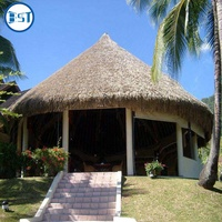 Cheap plastic thatch roof of artificial palm trees for roofing tiles