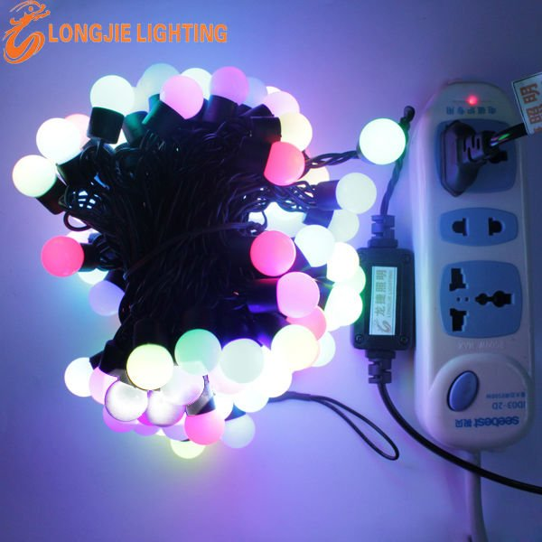 LED string christmas lights connectable