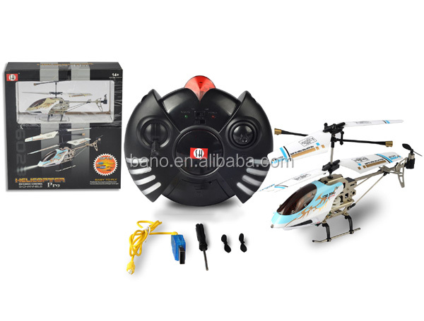CX Model 6023 3CH Small Metal Wireless RC Helicopter BNR100901
