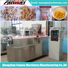 Factory direct good taste corn flakes making processing line/snacks making line