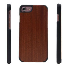 2 in 1 pure wood case for samsung note 5 wooden phone cover case