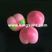 wholesale kawaii pu squishy peach pink and yellow big jumbo squeezing soft toy