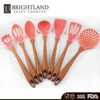Professional 7Pieces New Design Handle Kitchen Items Utensil Set