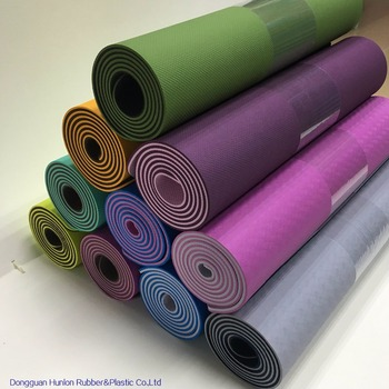 Water-Repellent TPE Yoga Mat for Pilates Fitness