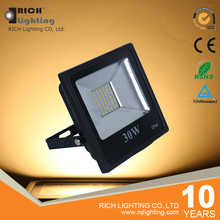 China alibaba supply die-cast aluminum waterproof case 30W led flood light ip66